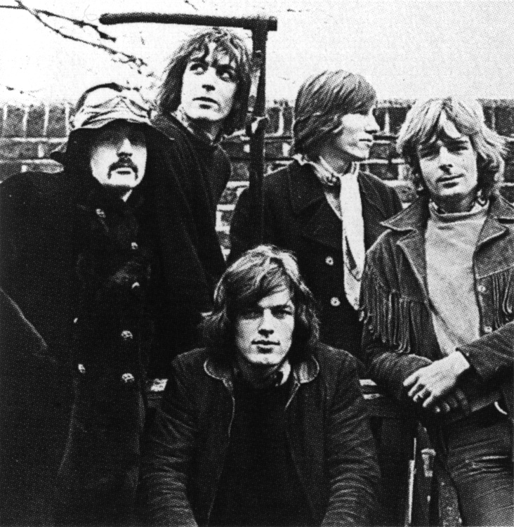The Five Member Pink Floyd