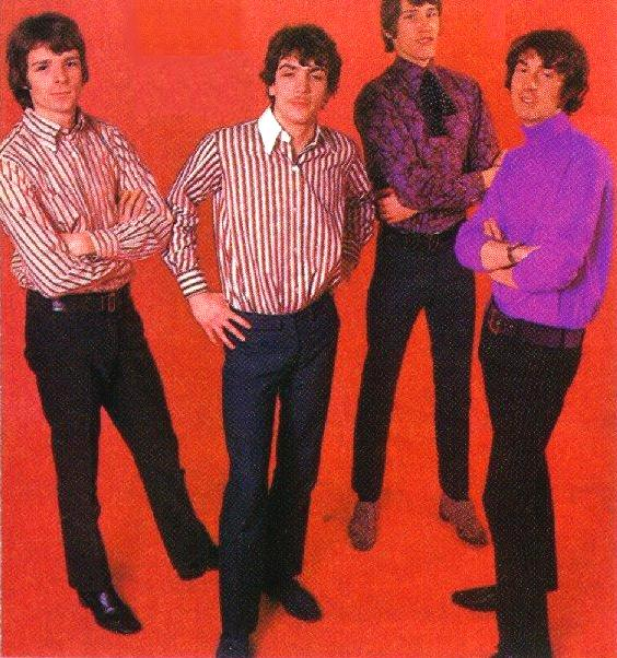 Pink Floyd Stripes Photo Session 1966