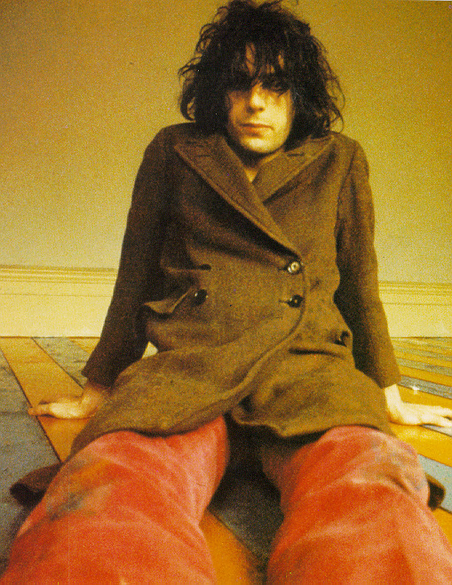 Syd Barrett - Madap Laughs Photo Session by Mick Rock